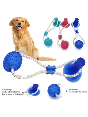 Suction Cup Dog Tug-toy