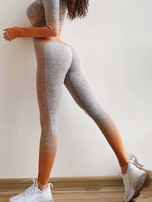 Stretchy & Seamless Yoga Legging